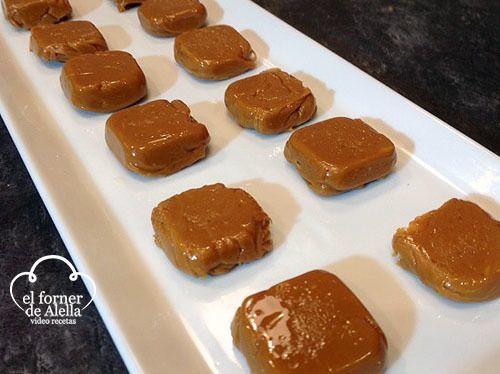 Caramelos de Cafe con Leche Caseros