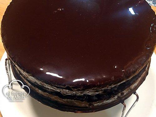Cobertura brillante de Chocolate
