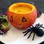 Crema de Calabaza y Manzana (Halloween)