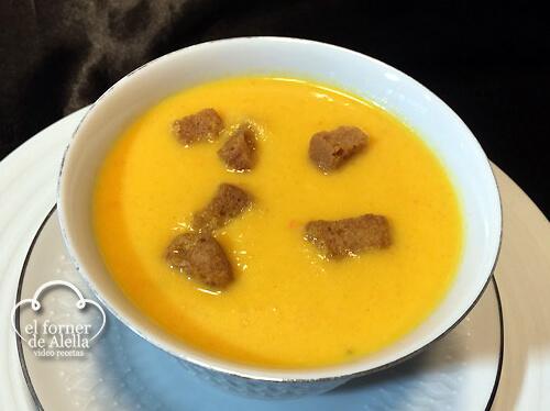 Crema de zanahorias y naranjas_CM