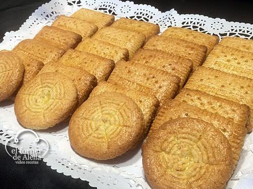 Galletas de coco caseras