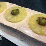 Pastel-frio-de-atún-y-piña