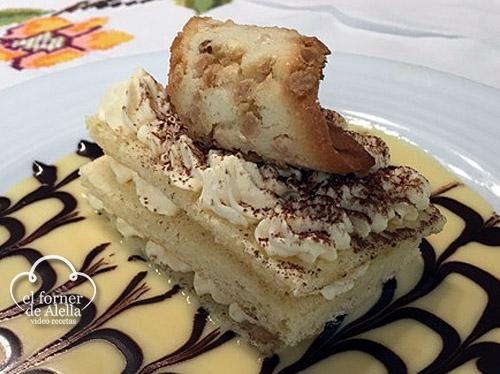 Pastelitos de Crema Mascarpone al Cointreau