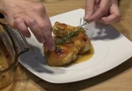 El toque del romero con el pollo