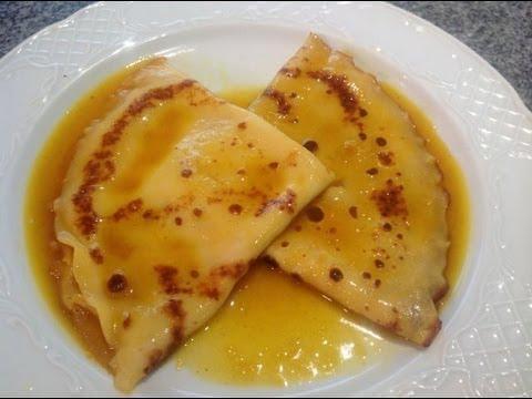 Crepes Suzette (Panqueques)