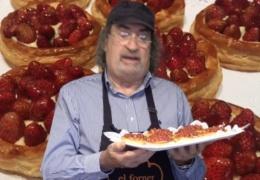 El Forner de Alella y las Tartaletas de hojaldre con crema y fresas