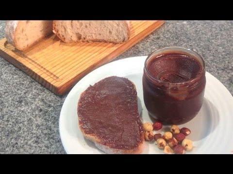 Crema de Cacao con Avellanas (Nutella)