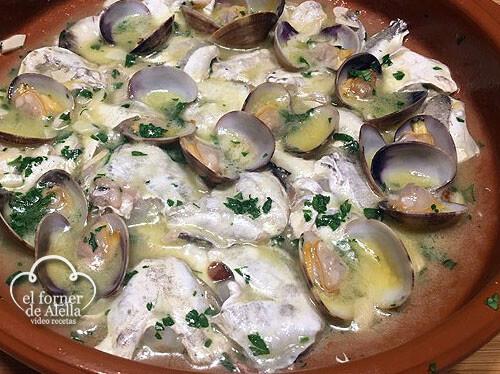 cocochas de merluza con salsa verde