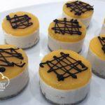 Pastelitos Semifríos de Melocotón