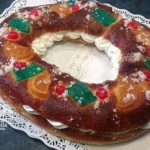 Así queda el Roscón de Reyes relleno de Nata
