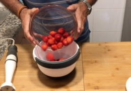 Fresas para el pastel